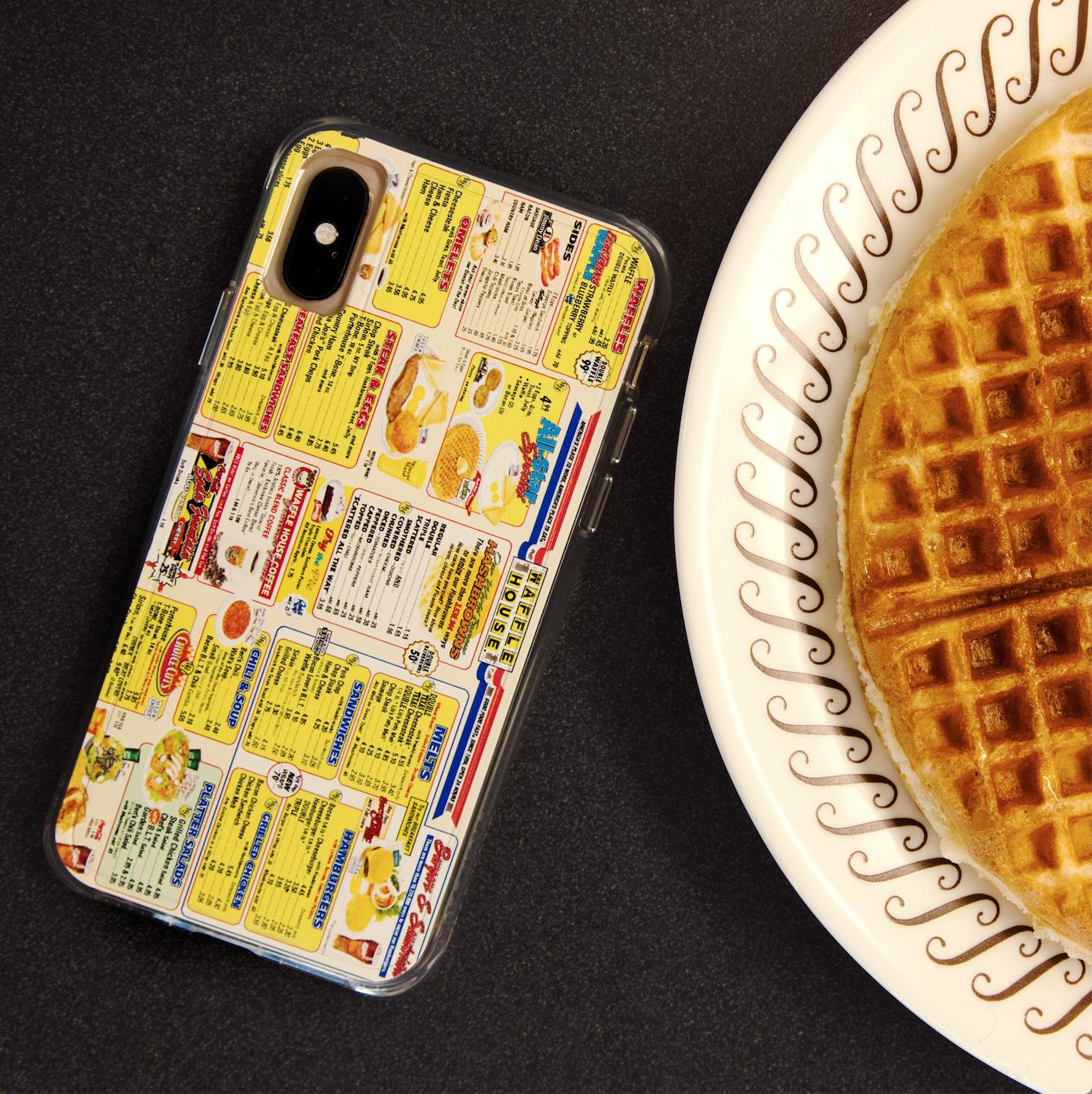 Case Mate X Waffle House Throwback Menu Case Waffle House Waffles Case Mate