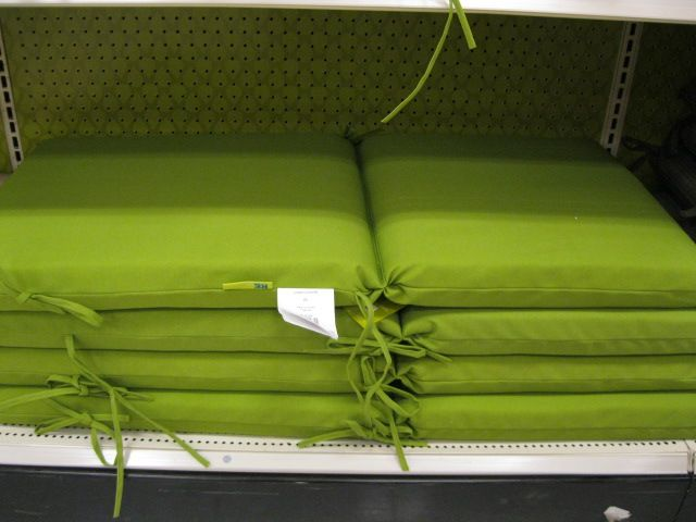 outdoor swing cushions
