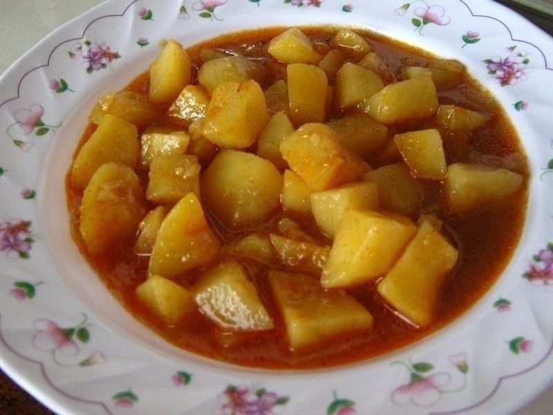 Potato Goulash  •  Free tutorial with pictures on how to cook a potato dish in under 120 minutes