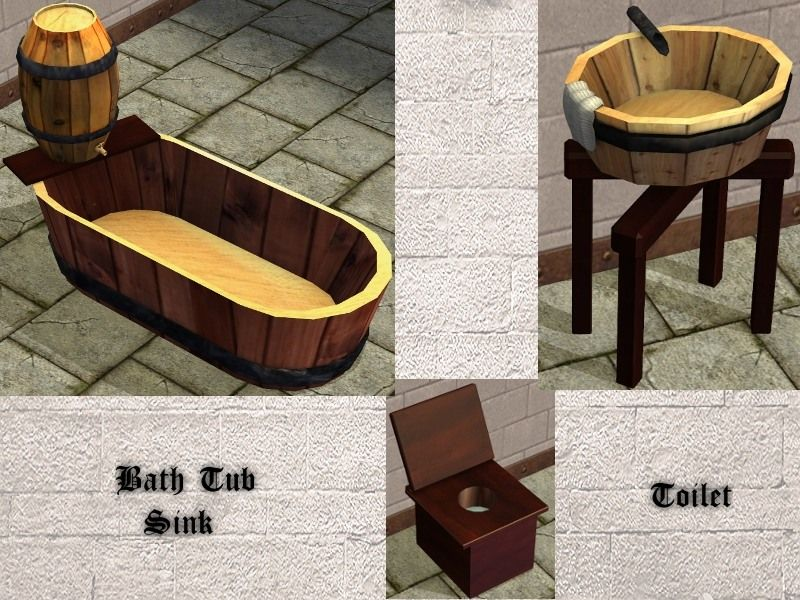 Athelyna Medieval Set  bathroom accessories  Medieval