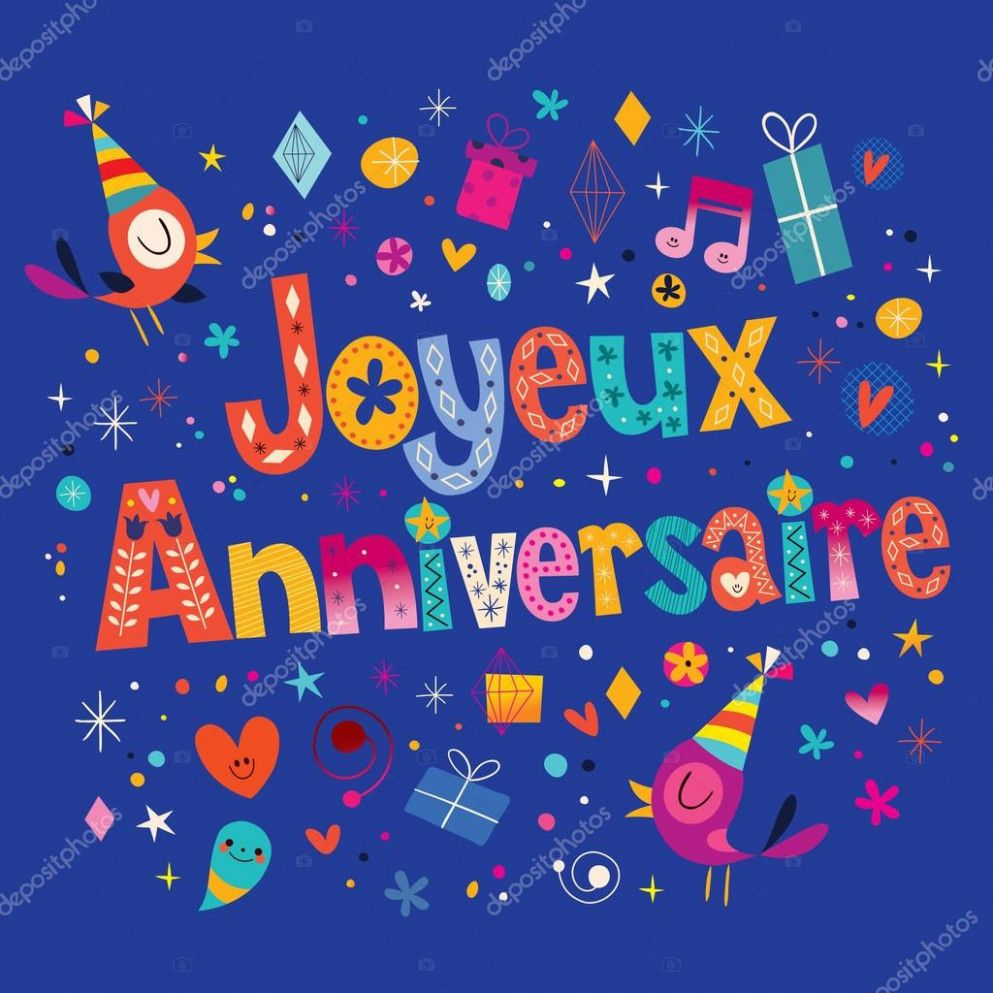 12 Creative Happy Birthday In French Card Happy Birthday Cards Happy Birthday In French Funny Happy Birthday Song