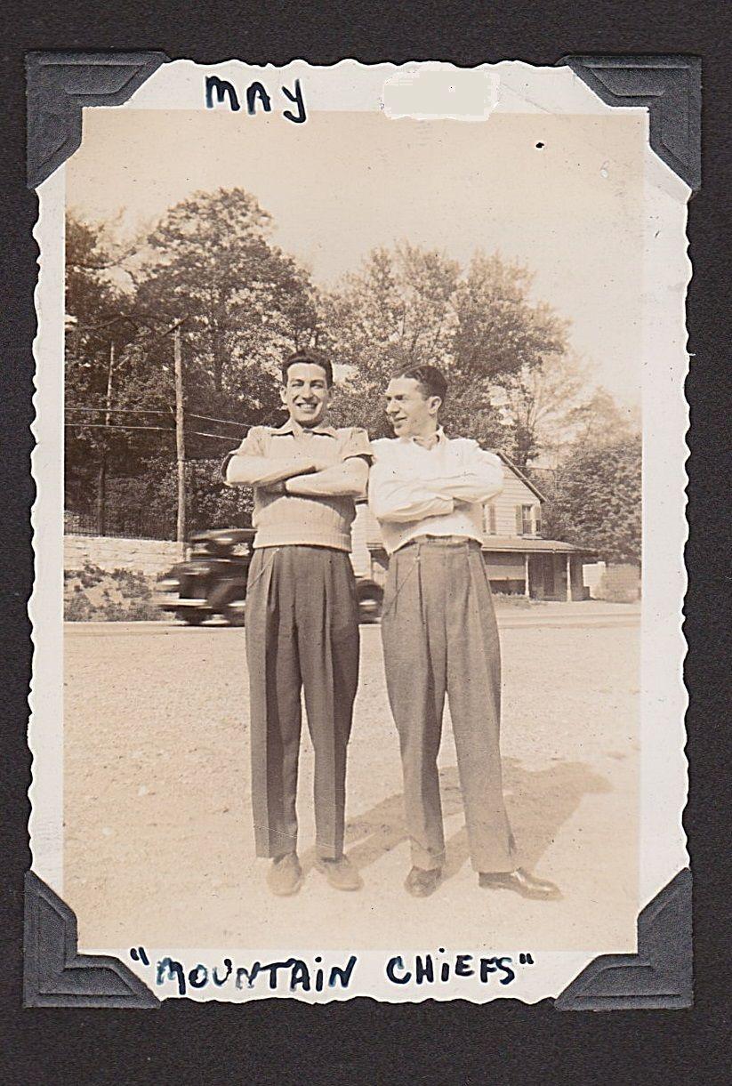 Larry,Solly, Penskill, N.Y. 1940