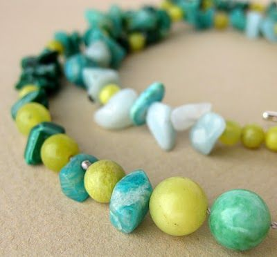 Love the Colours in this necklace!