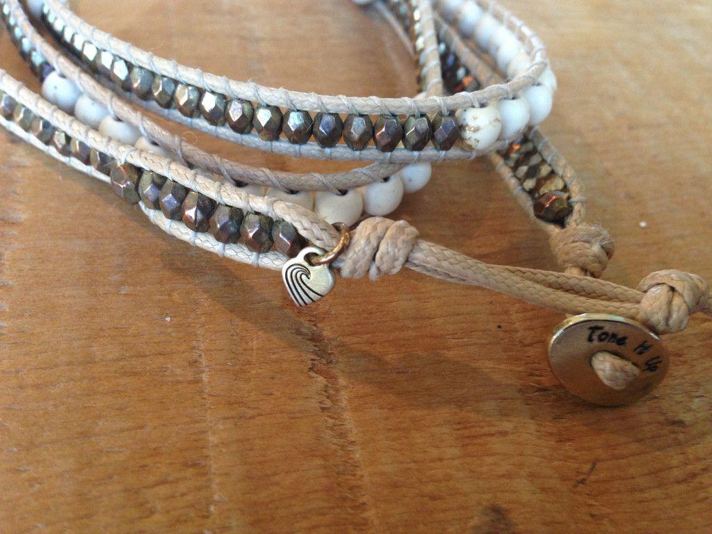 Team Favorite Beach Babe Wrap Bracelet