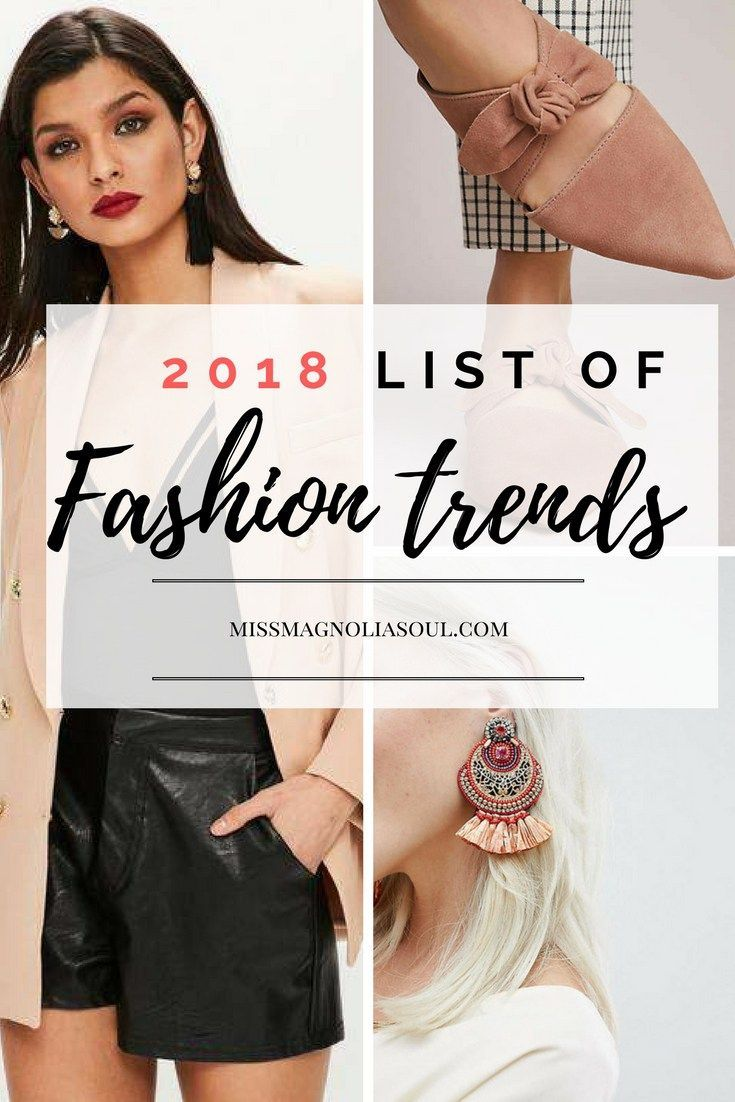 Fashion trends must haves for the new year spring summer