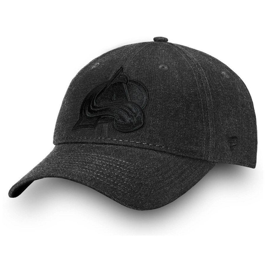 lowest price 76539 23a4e ... cuffed pom knit 7mbg44x2u9j9 1e611 9bcc7  spain mens colorado avalanche  fanatics branded black team haze adjustable snapback hat sale 16.49 you save