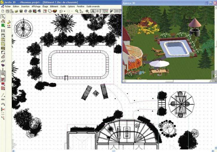 Logiciel gratuit plan jardin 3D : 20 idées de logiciel paysagiste gratuit   Logiciel paysagiste ...
