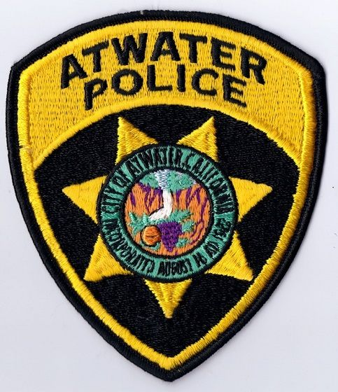 Atwater Pd Calif 2 With Images Police Patches Police Badge