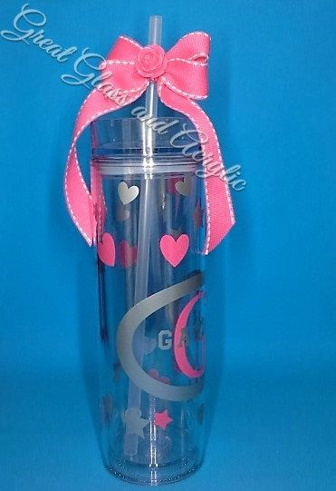 Personalized Water BottlesMonogrammed by GreatGlassandAcrylic