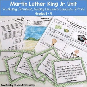 MLK Unit for Middle School