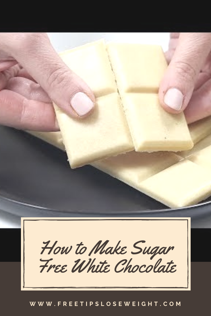 How to Make Sugar Free White Chocolate (Low Carb, Keto)