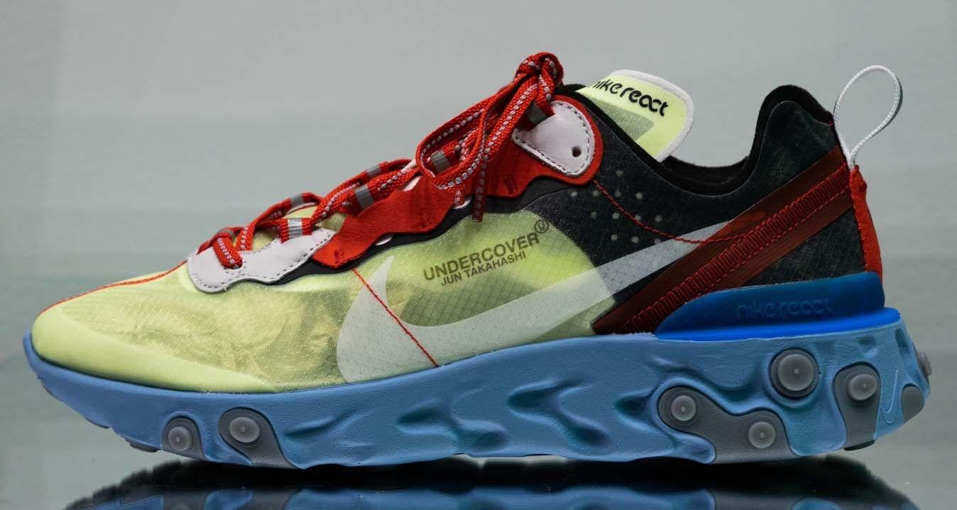 鍔 Tableta Brisa  UNDERCOVER x Nike Element React 87 // Closer Look | Sneakers men fashion,  Sneakers men, Shoes too big
