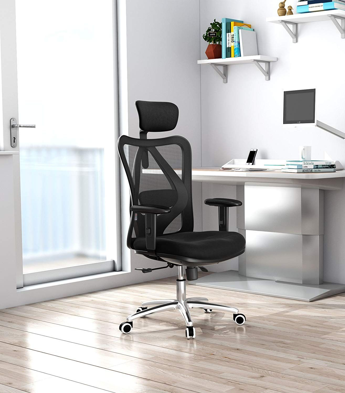 Sensational The Universal Fit Computer Desk Chair For Lower Back Pain Evergreenethics Interior Chair Design Evergreenethicsorg