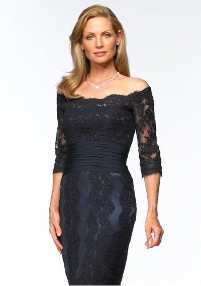 Tulle Sexy Style with Long Sleeves Hot Sell Mother of the Bride Dress - Ukdressale.com