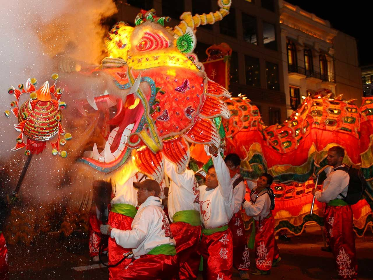 The Southwest Airlines Chinese New Year Parade Festivals
