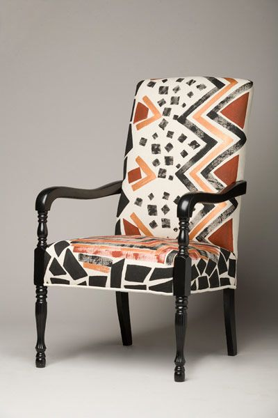 African Inspired Furniture And Chairs 椅子 African Furniture