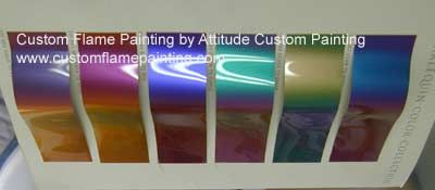 PPG Harlequin Color Shift Color Charts   Car, truck, and ...