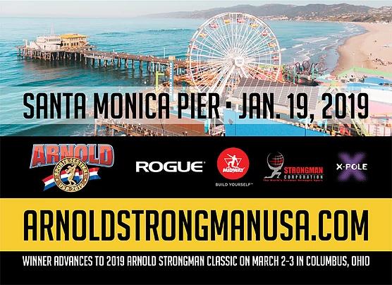 Arnold Strongman USA | Santa monica pier, Santa monica, Strongman