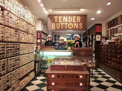 Idiosyncratic Fashionistas: Buttons, Buttons, Who's Got the Tender Buttons