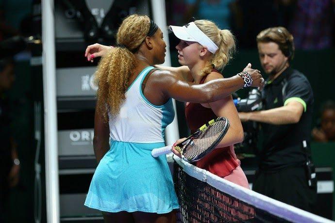 Blog Esportivo do Suíço: Serena bate Wozniacki no tie-break e vai à final em Cingapura