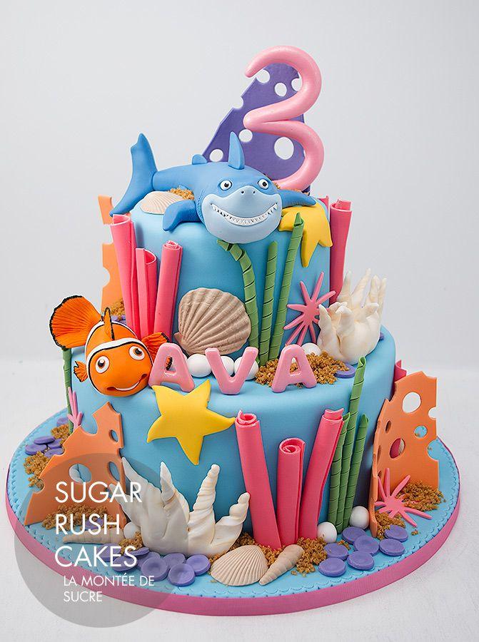 G teaux le monde de nemo gateau anniversaire g teau nemo gateau anniversaire et le monde de - Requin rigolo ...