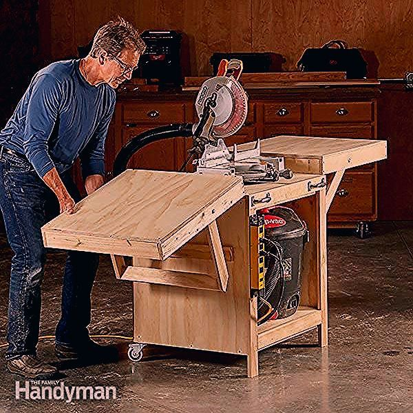 Photo of Convertible Miter Saw Station Plans