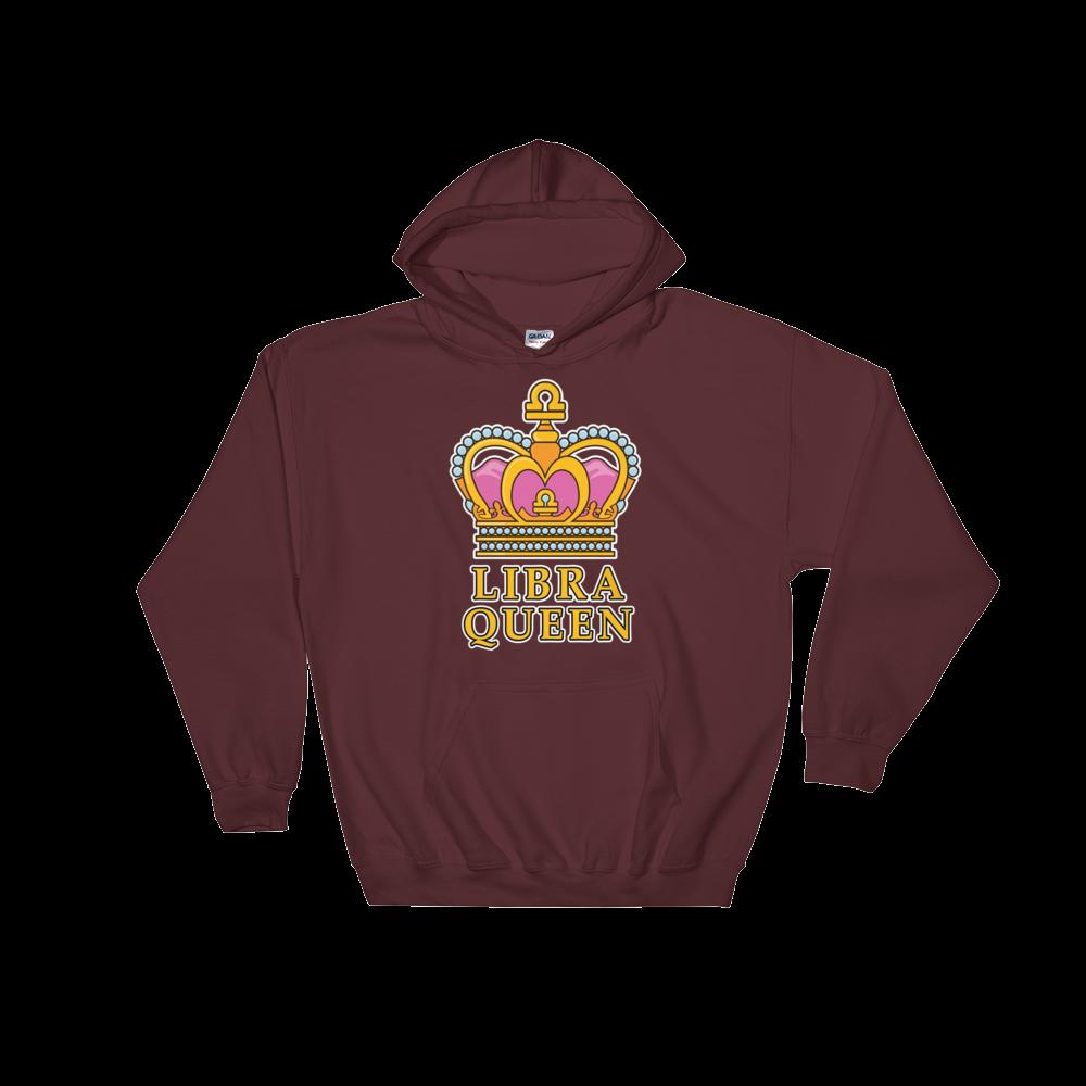 Libra Queen Zodiac Hooded Sweatshirt Queens are born in