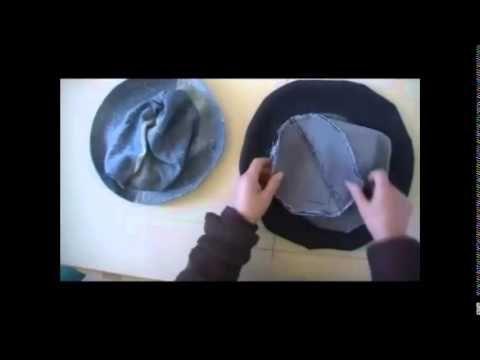 Patron y Armado de Sombrero o Gorro unisex - YouTube  4d661637b84
