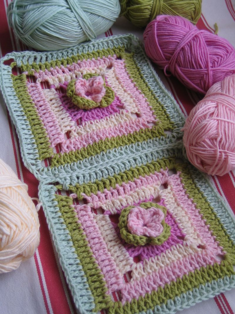 Crochet Sept by setp Tutorial * ༺✿Teresa Restegui http://www ...