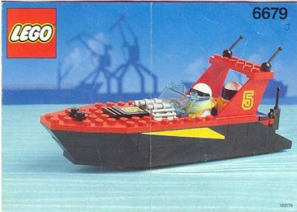 LEGO Set 6679-1 Dark Shark - building instructions and parts list ...