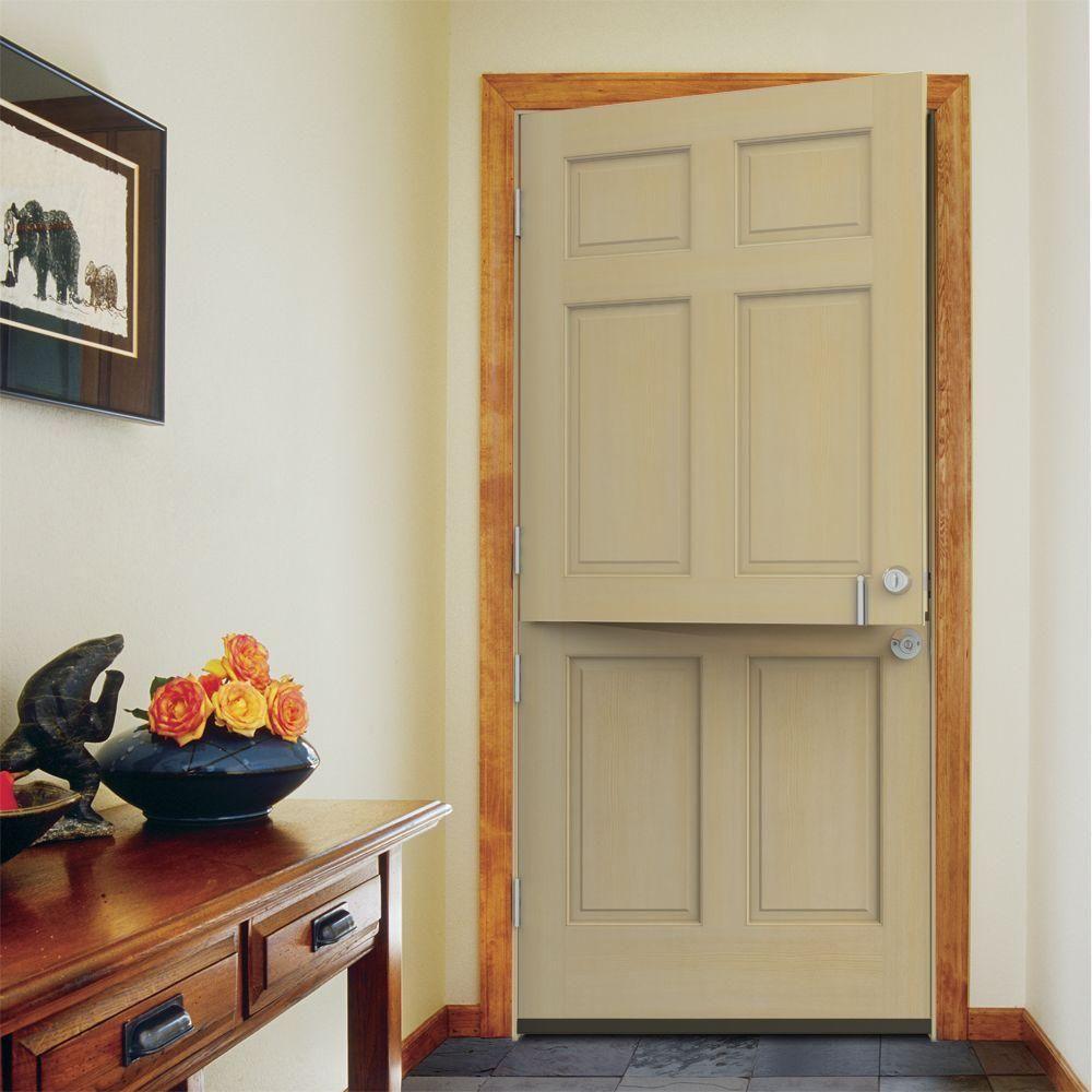 Visit The Home Depot To Buy JELD WEN 32 In. Hemlock Right Hand Inswing  Entry Dutch Door In Primed AuraLast Jamb With Brickmould
