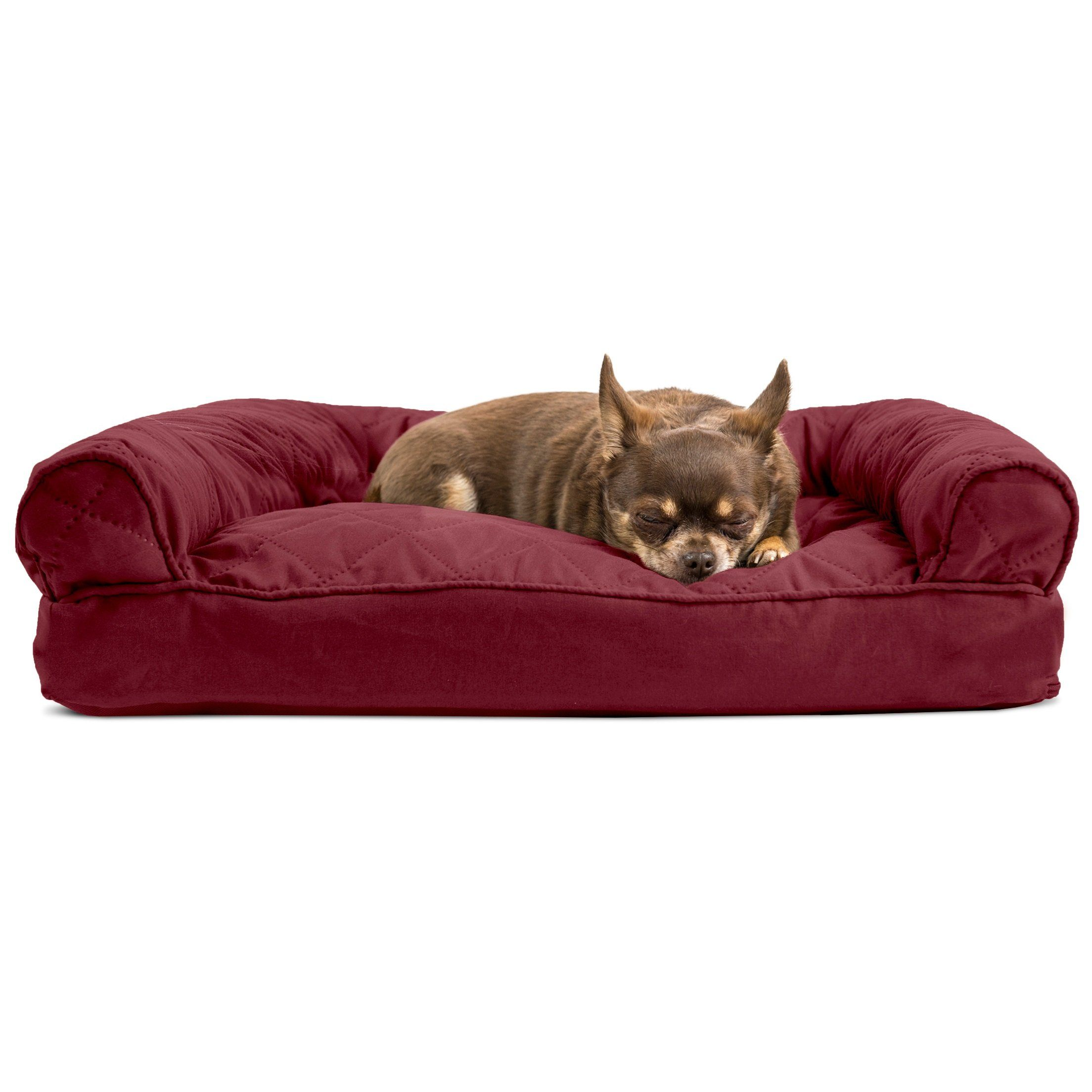 Cool Medium 1 Piece Red Burgundy Color Quilted Pillow Sofa Style Bralicious Painted Fabric Chair Ideas Braliciousco