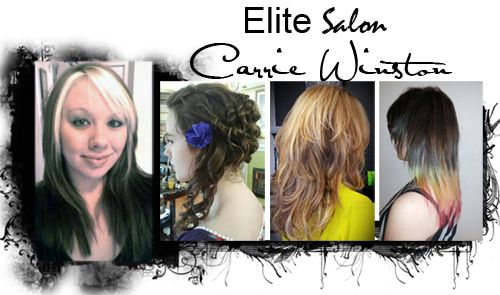 Elite Salon Would Like To Welcome Our New Stylist Carrie Winston