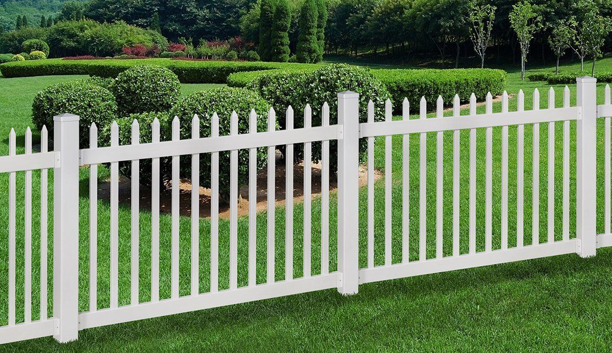 Amazon wambam no dig nantucket vinyl picket fence with post amazon wambam no dig nantucket vinyl picket fence with post and no baanklon Image collections