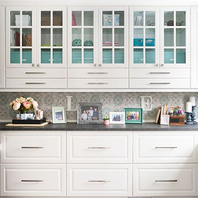 Best Built In Home Office Design Using Ikea Sektion Cabinets 400 x 300