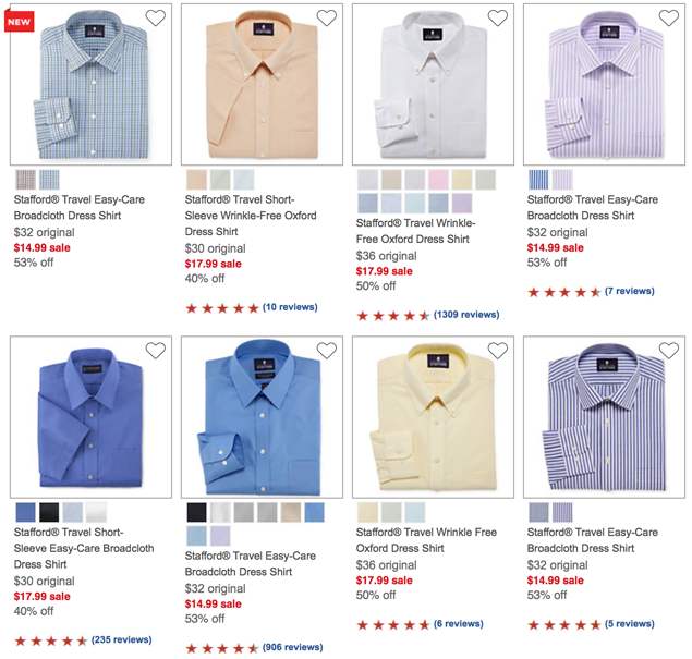Dress shirts that Dad will love in this #DailyDealByJillee!