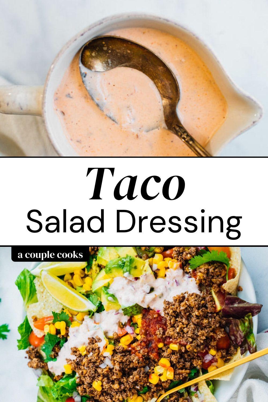 Taco Salad Dressing Recipe Easy