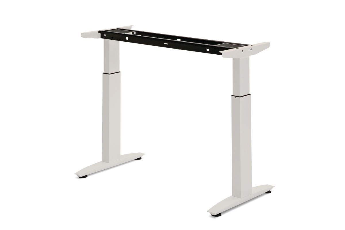 Electric Table Legs Allow For Easy Height Adjustment On Command With The  Press Of A Button