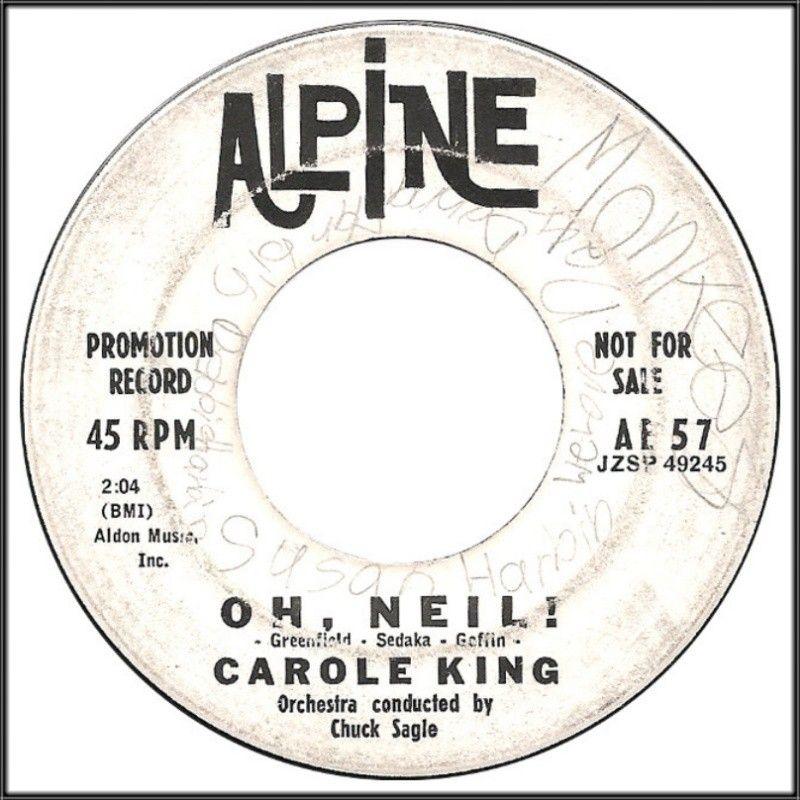 Carole King: Oh, Neil!; Promotion Copy (1960)