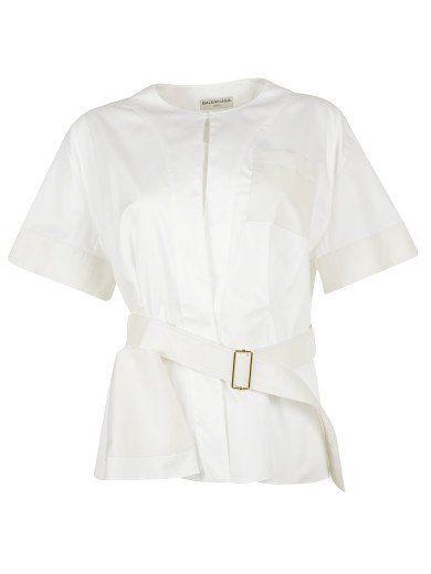 BALENCIAGA Balenciaga Waist Belt Top. #balenciaga #cloth #topwear