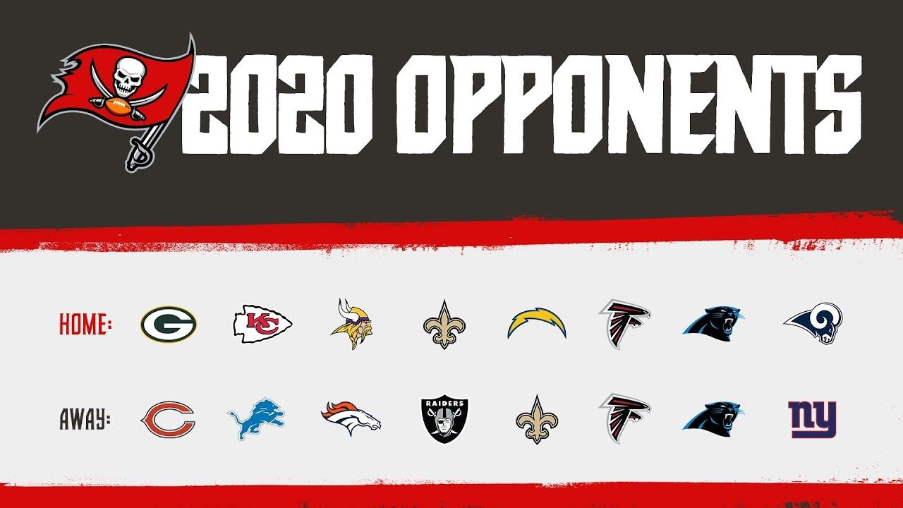 Who Will The Bucs Face In 2020 Spoiler The Super Bowl Champs A Complete List Of The 16 Games The Buccaneers Will P In 2020 Super Bowl Tampa Bay Buccaneers Tampa Bay