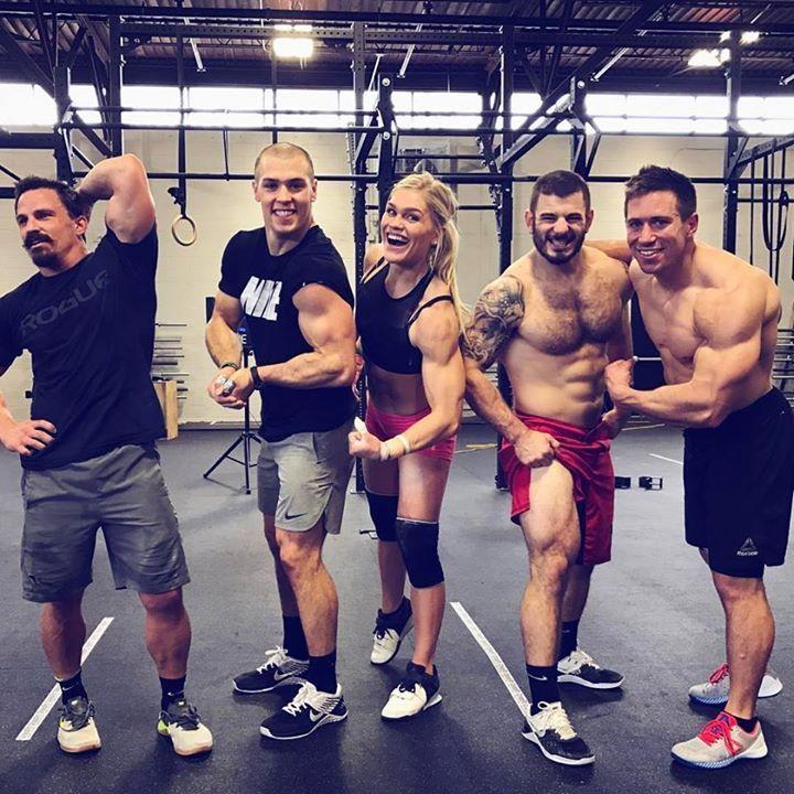 CrossFit: Josh Bridges, Cole Sager, Katrin Davidsdottir, Mathew Fraser, Dan Bailey