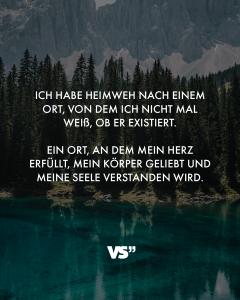 spruch heimweh - VISUAL STATEMENTS®