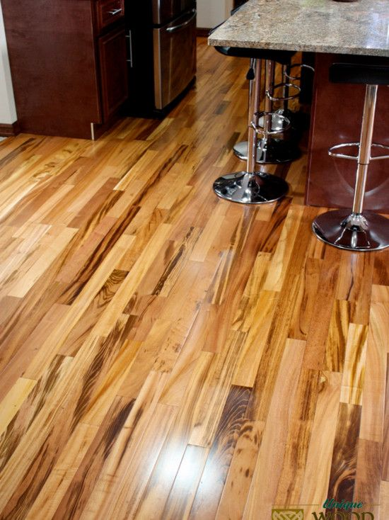 Brazilian Tigerwood Koa Hardwood Flooring Functional In