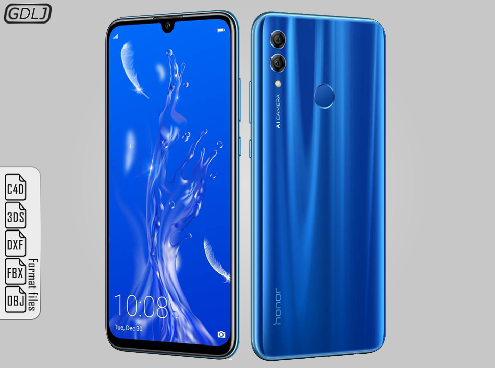 Huawei Honor 10 Lite Sapphire Blue Blue Sapphire 10 Things Huawei