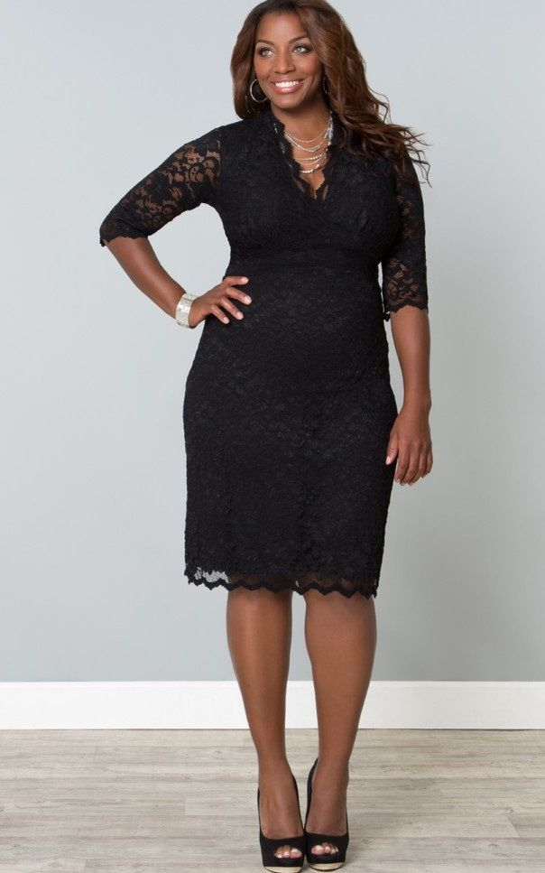 Curvalicious Clothes :: Plus Size Dresses :: Scalloped Boudoir ...