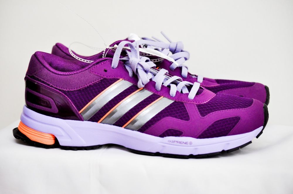 Awesome Color Combo Adidas Marathon 10 Athletic Running Shoes Womens Sz 7.5