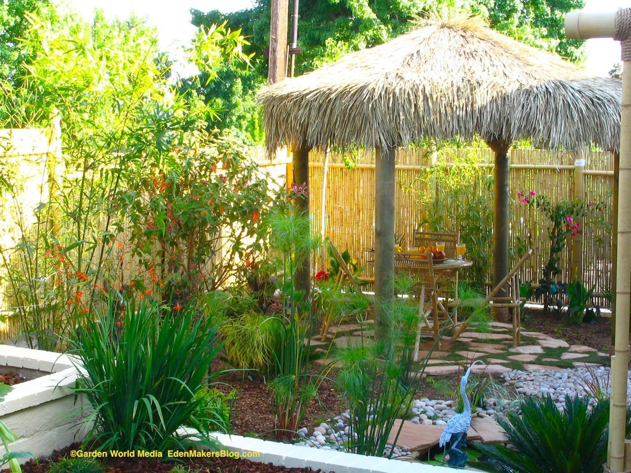 tropical front yard landsape | edible front yard read about this ...