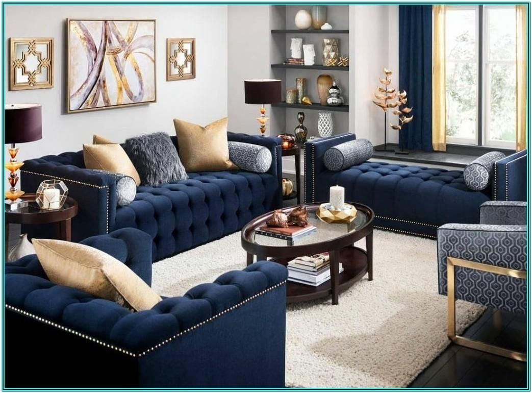 Living Room Decorating Ideas In Nigeria in 2020 | Blue ...