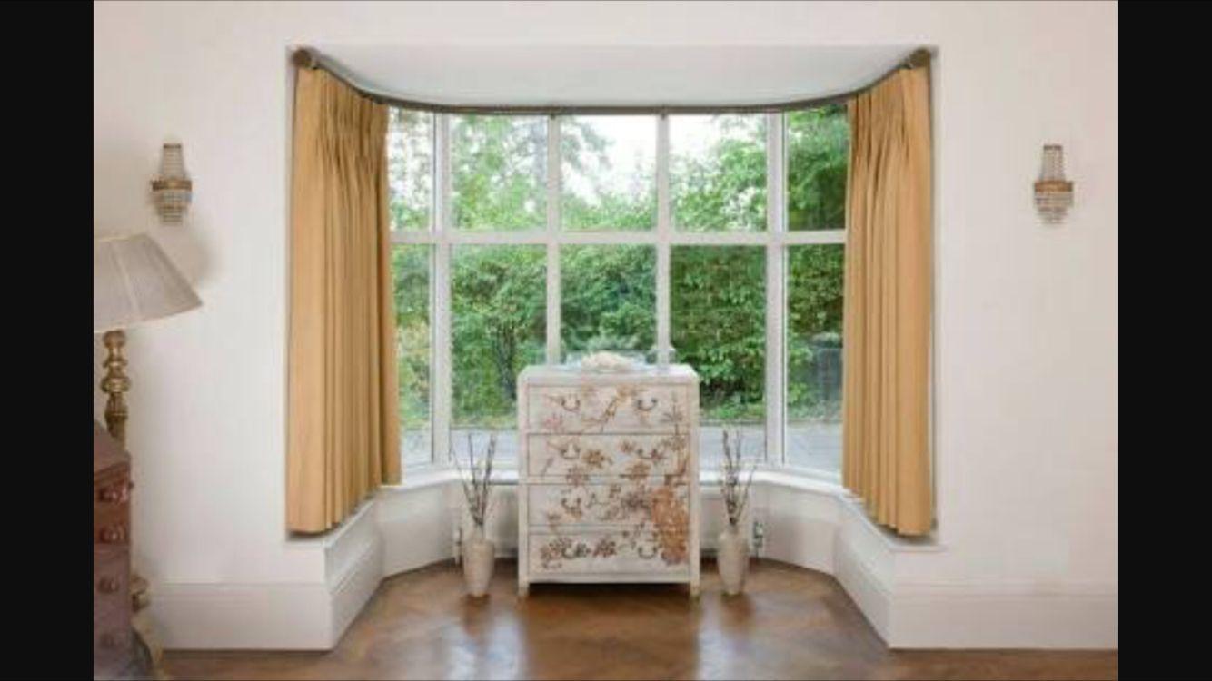 Bay Window Bay Window Curtains Window Curtain Designs Bay